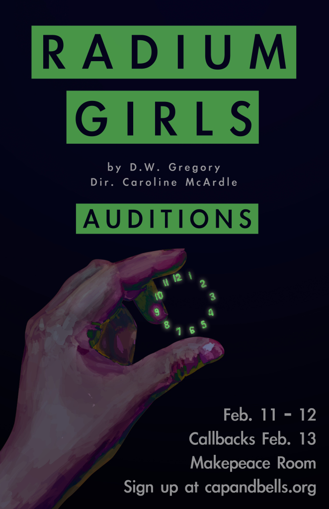 radium girls audition poster